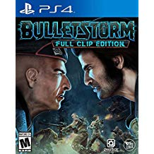 PS4: BULLETSTORM FULL CLIP EDITION (NM) (COMPLETE)